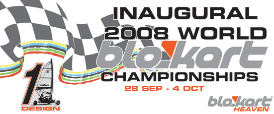 2008 World Blokart Championship Banner
