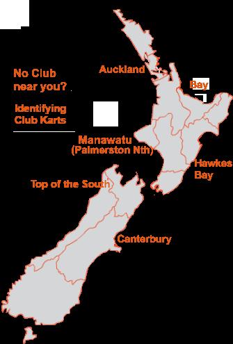 New Zealand Blokart Club Map
